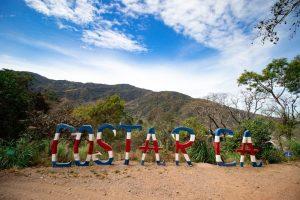 Costa Rica Sign Hacienda La Chimba